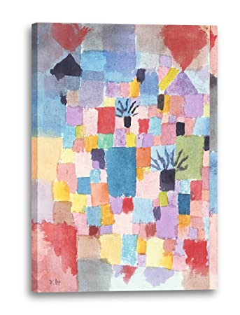 Printed Paintings Leinwand (70x100cm): Paul Klee - Südliche Gärten ...