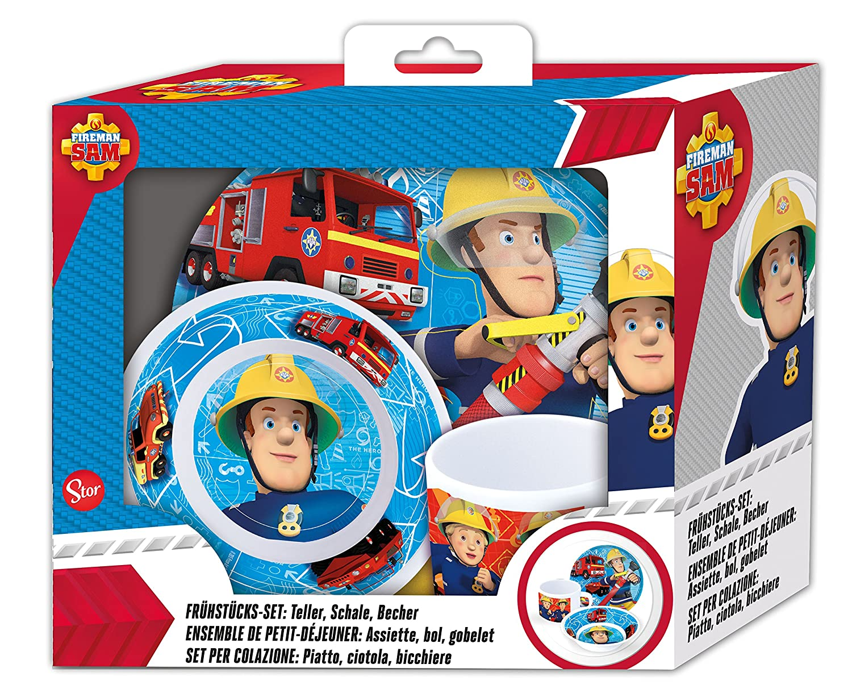 Melaminset Feuerwehrmann Sam 3