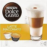 NESCAFÉ Dolce Gusto | Capsulas de Café Latte Macchiato | Pack de 3 x 16 Cápsulas - Total: 48 Cápsulas