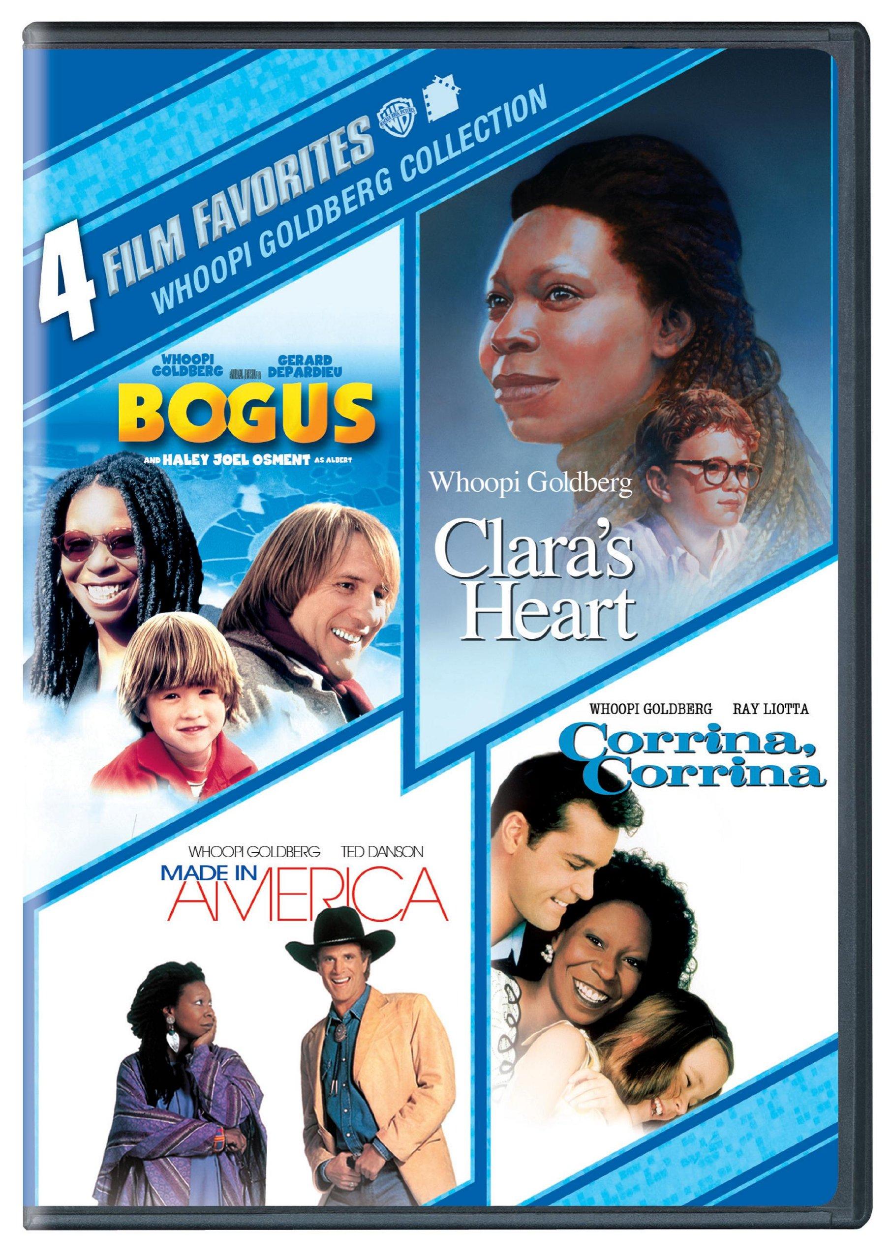 4 Film Favorites: Whoopi Goldberg (Bogus, Clara's Heart, Corrina, Corina, Made In America)