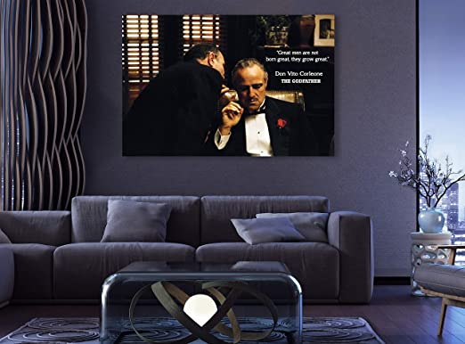 GODFATHER MARLON BRANDO CANVAS PRINT PICTURE WALL ART HOME DECOR FREE DELIVERY