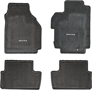 Nissan Sentra Nissan Carpeted Floor Mats - 999E2-LT010GY