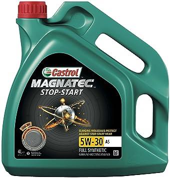 castrol magnatec 5w30  Castrol MAGNATEC START STOP-Olio motore 5W-30 A5: : Auto e Moto