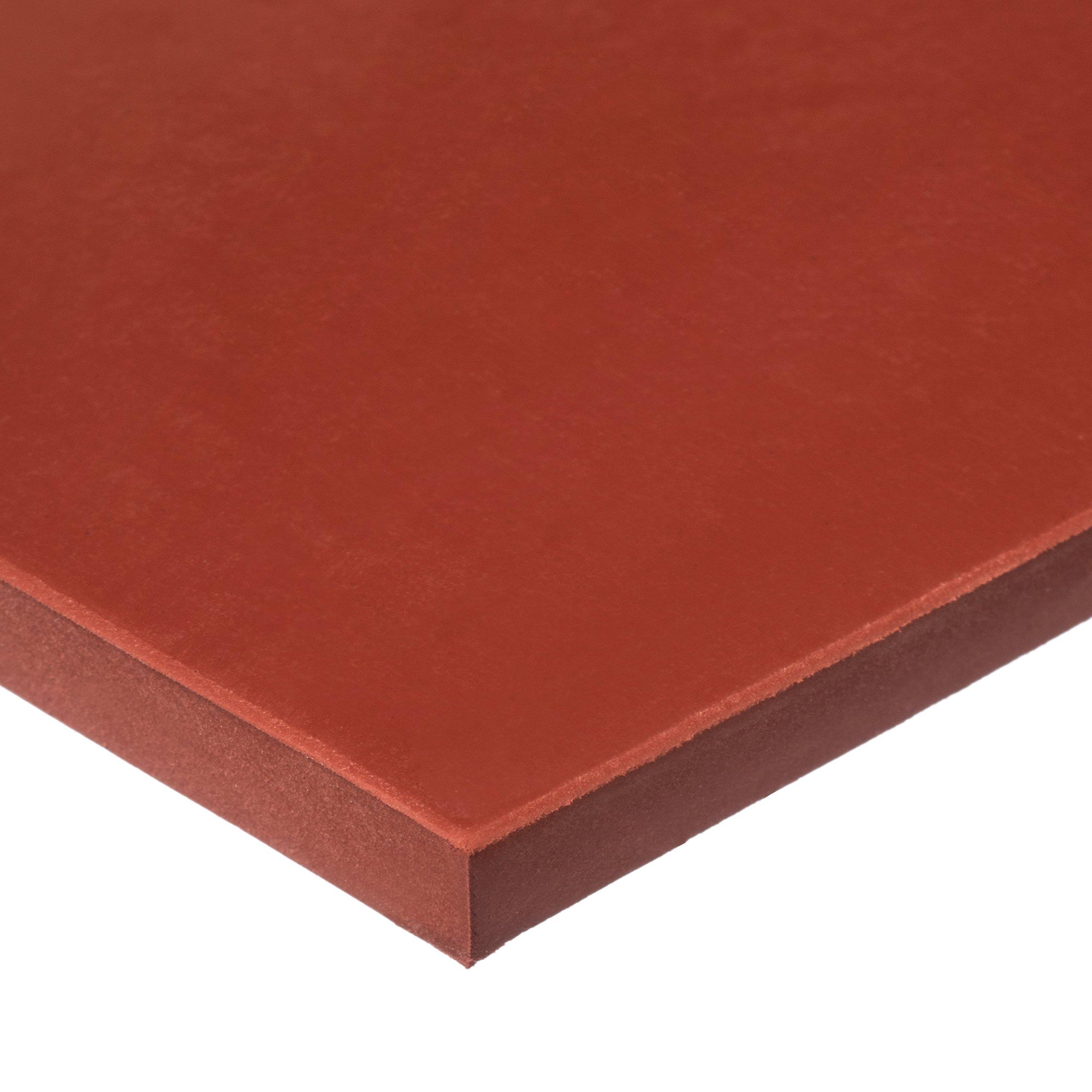 Silicone Rubber Sheet No PSA-40A -1/16'' T x 36''W x 12''