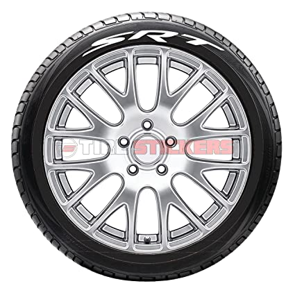 tire stickers srt logo for dodge tire lettering add on accessory