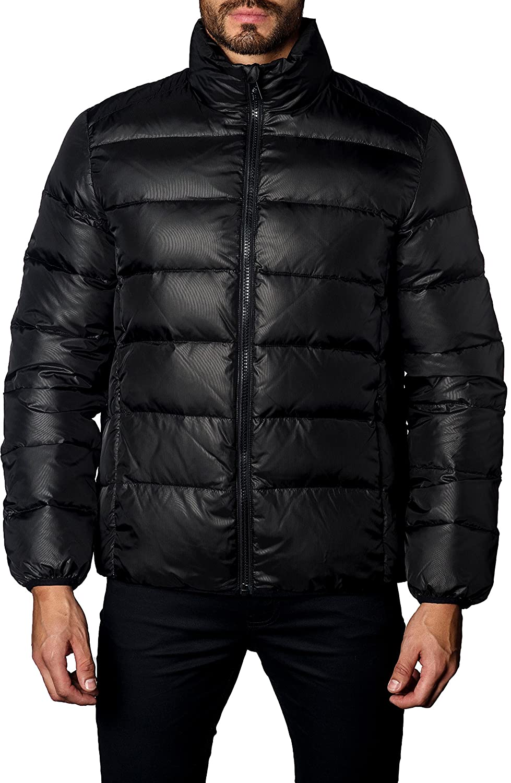 ヤレドラング アウター ジャケットブルゾン Jared Lang Down Puffer Jacket Black Down [並行輸入品] B078NN3XSK X-Large