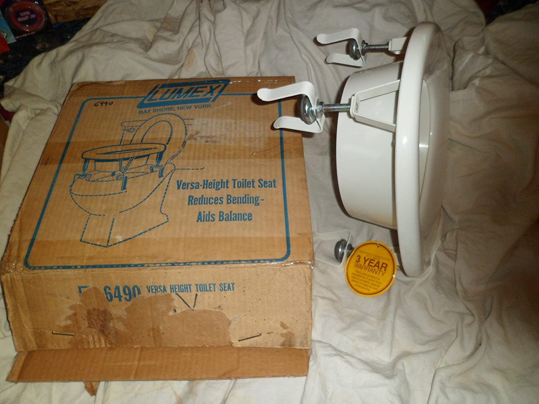 Lumex Versa Height Toilet Seat Model 6492 - - Amazon.com