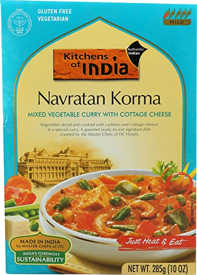 Amazon kitchens of india ready to eat navratan korma mixed kitchens of india ready to eat navratan korma mixed vegetable curry with cottage cheese forumfinder Gallery