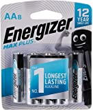 Energizer Max Plus AA (Packaging may vary), 8ct