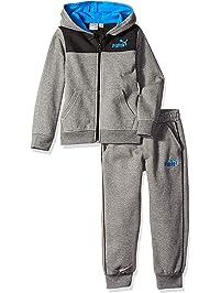 PUMA Boys Boys' Fleece Hoodie Set Hooded Sweatshirt
