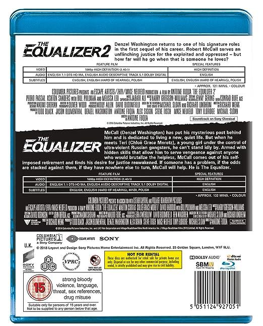 Amazon com: The Equalizer 1 & 2 [Blu-ray] [2018]: Movies & TV