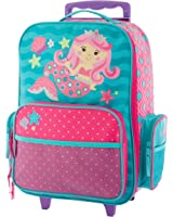 Stephen Joseph Toddler Girl's Classic Rolling Luggage, Mermaid Accessory, mermaid, N/A