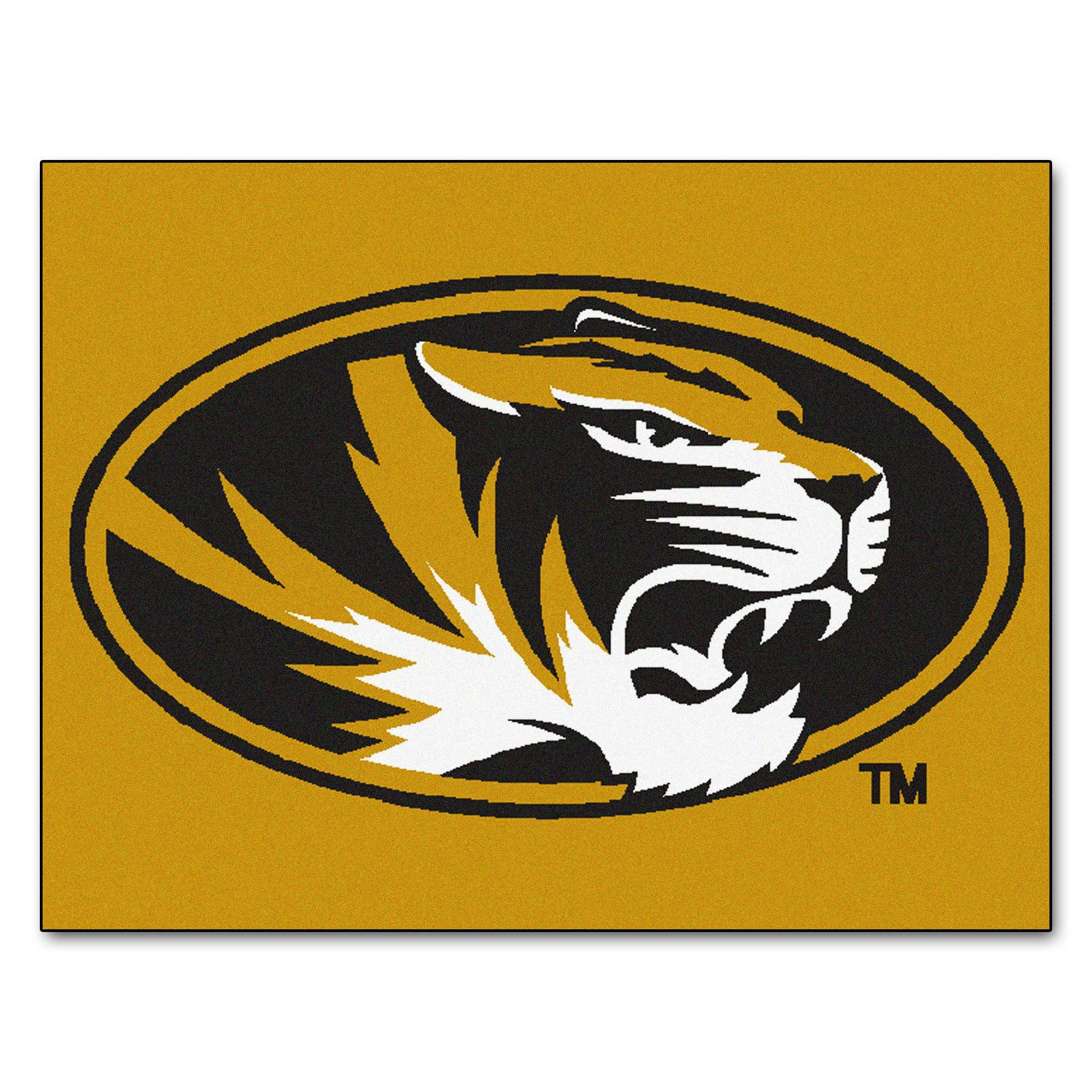 Fanmats NCAA University of Missouri Tigers Nylon Face All-Star Rug