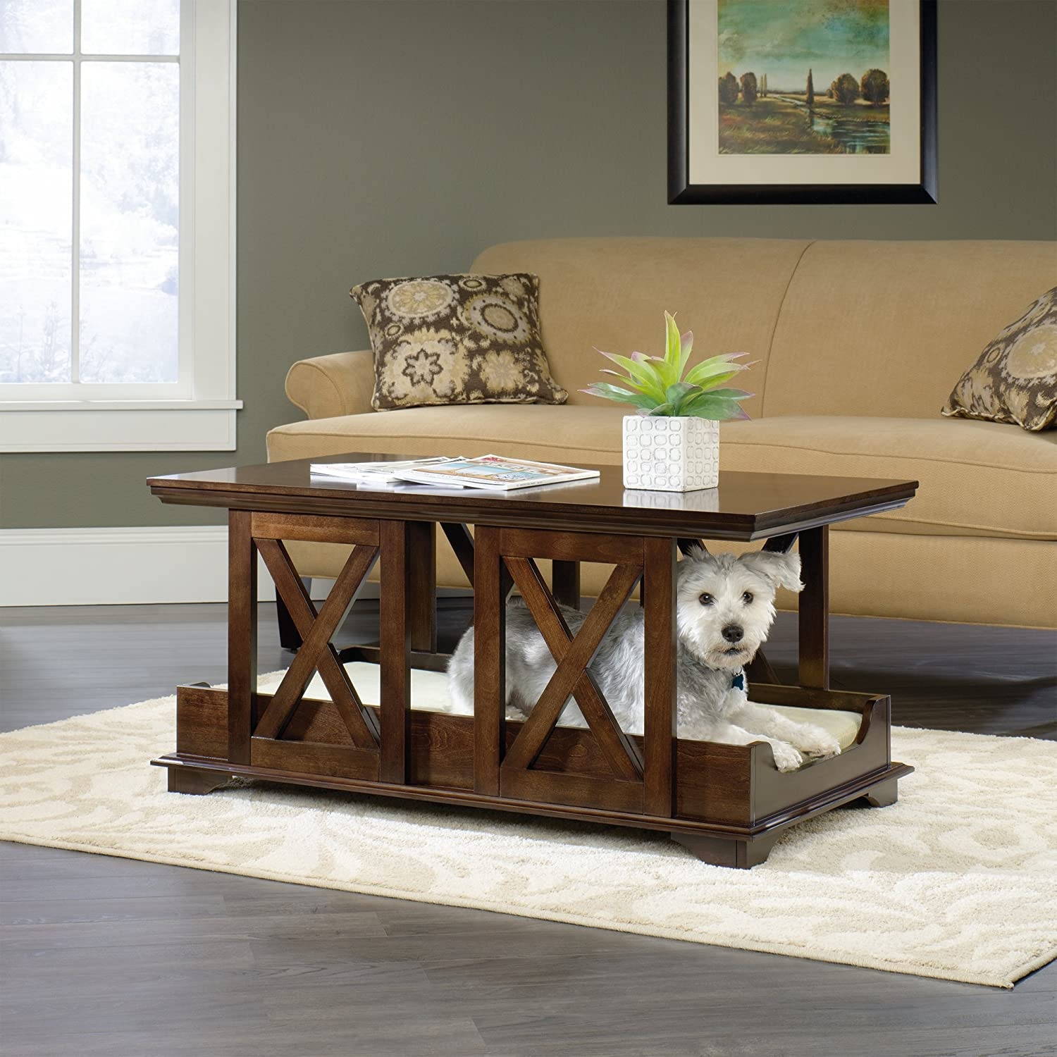 Hugo Coffee Gift Recommendations Dog Bed and Coffee Table | Giving to Dog Rescue Organizations