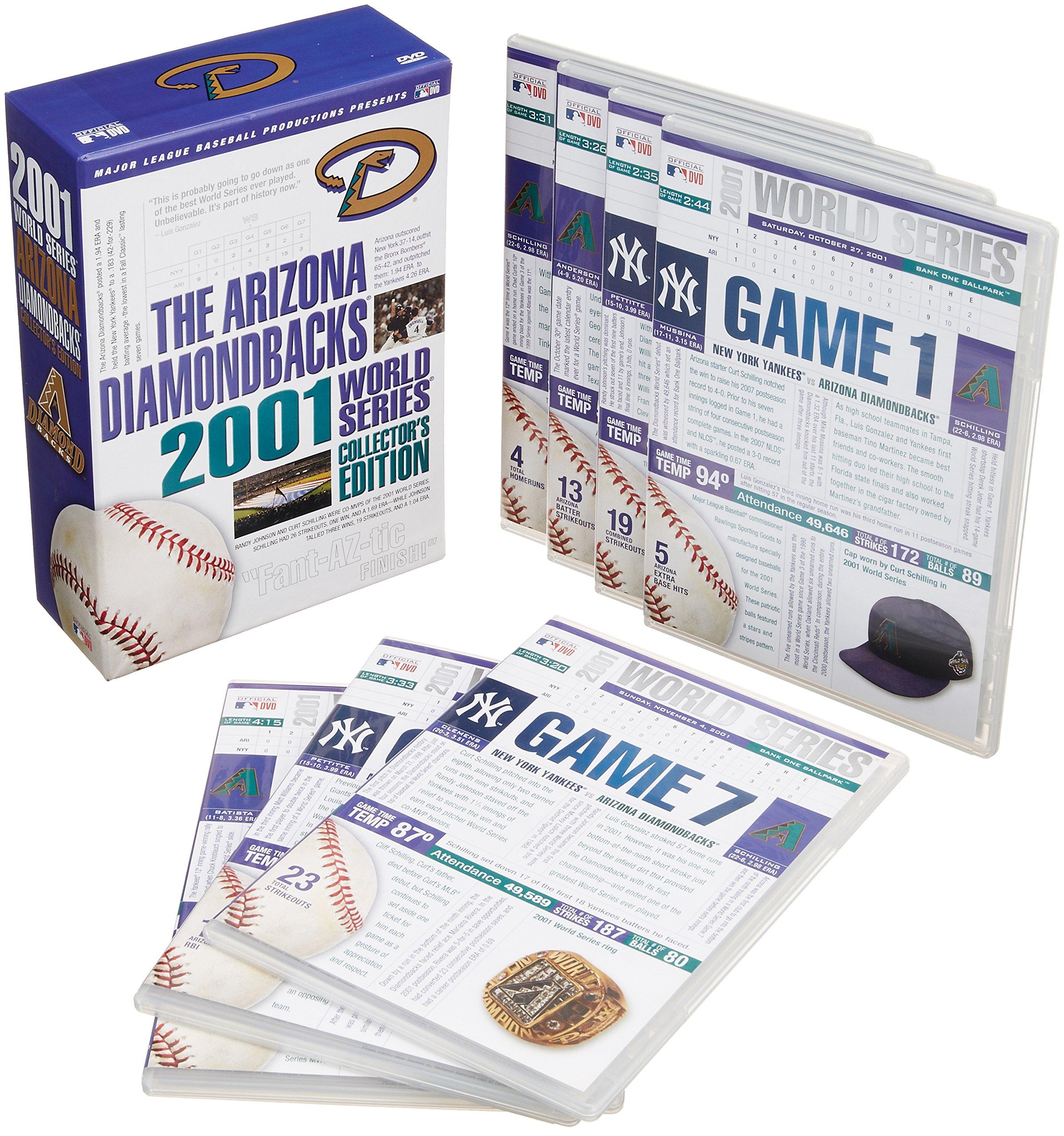 The Arizona Diamondbacks 2001 World Series Collector's Edition [DVD] by A&E
