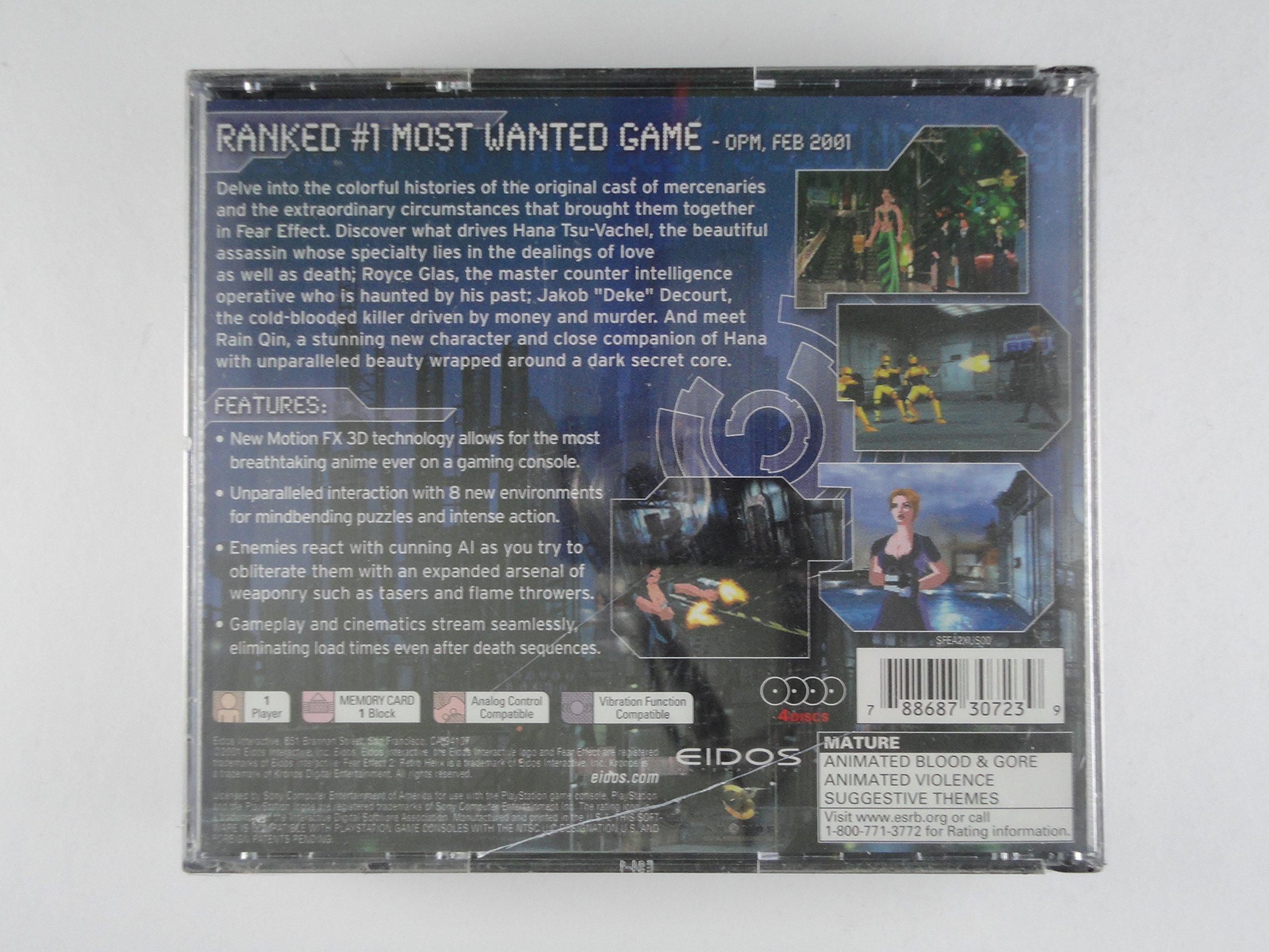 Amazon com: Fear Effect 2: Retro Helix - PlayStation