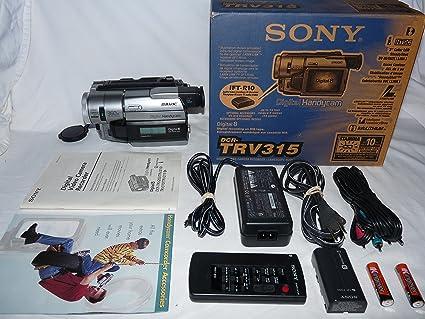 Amazon com: sony DCRTRV315 digital8 NTSC camcorder plays 8mm Hi8