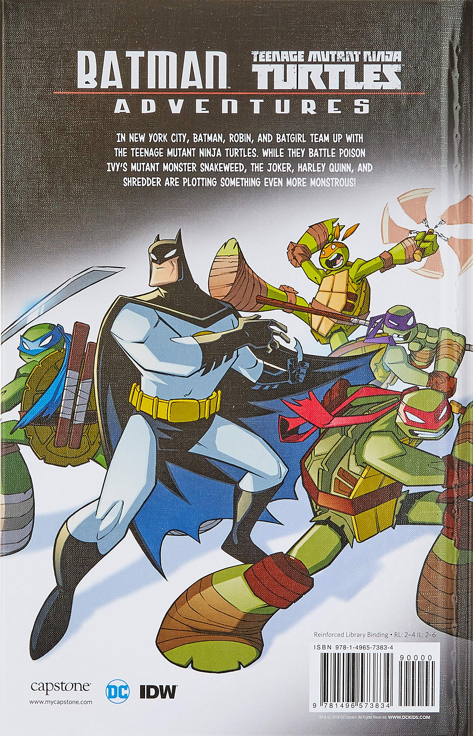 Batman/Teenage Mutant Ninja Turtles Adventures: Amazon.es ...