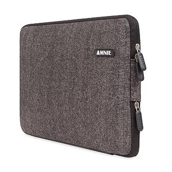 fe66634f0a [Meilleure Housse pour ordinateur portable] AMNIE Etui pochette pour  ordinateur portable 15-15 ,6 pouces étanche ...