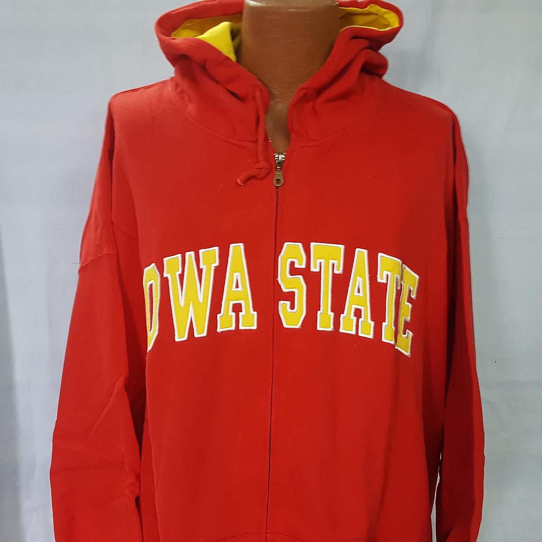新しい。大学のアイオワ州状態長袖フード付きサイズ5 x l B07B2LJ2YZ