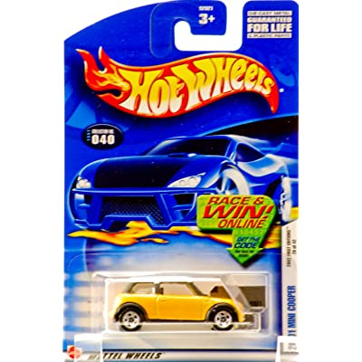 2002 First Editions -#28 2001 Mini Cooper 5-spoke Wheels #2002-40 Collectible Collector Car Mattel Hot Wheels 1:64 Scale Collectible Die Cast Car: Toys & Games
