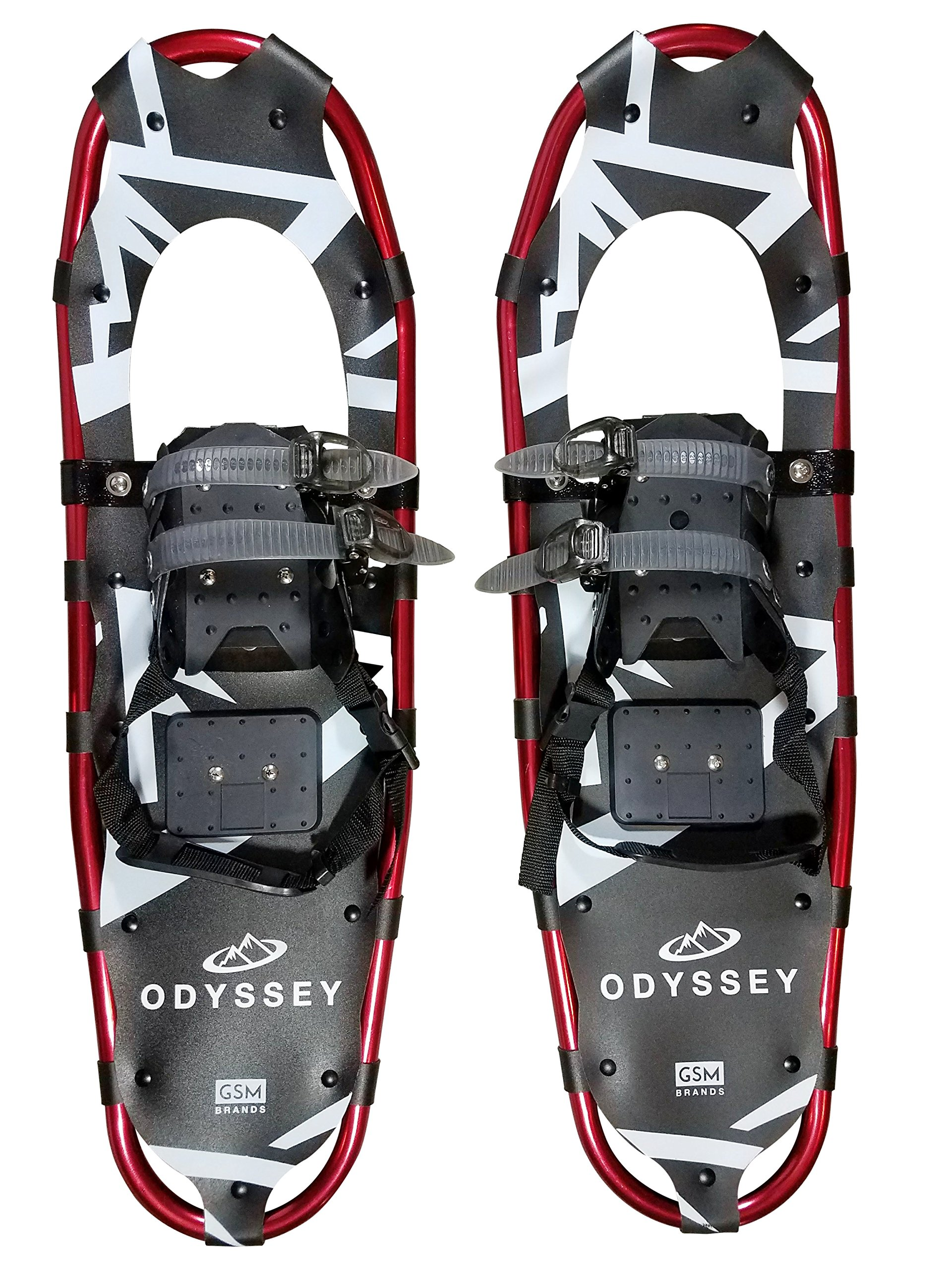GSM Brands Snowshoes with Carrying Bag (30 Inches), Weight Capacity up to 250 Lbs