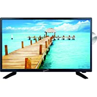 """SuperSonic SC-2412 LED Widescreen HDTV & Monitor 24"""", Built-in DVD Player with HDMI, USB, SD & AC/DC Input: DVD/CD/CDR High Resolution and Digital Noise Reduction"""