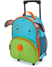 Skip Hop Zoo Little Kid & Toddler Rolling Luggage, Darby Dog