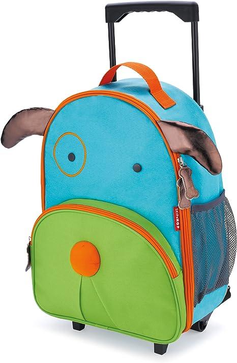 con etiqueta de nombre Maleta con ruedas para ni/ños Multicolor Skip Hop Zoo Luggage Butterfly Blossom
