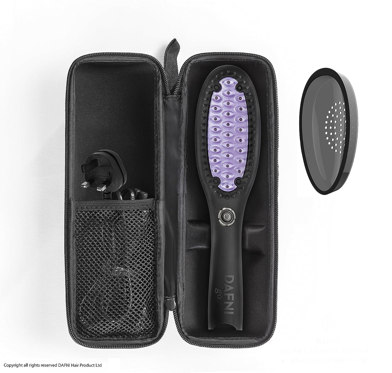 Dafni Go pelo alisado de Peine Plancha de pelo cepillo: Amazon.es: Salud y cuidado personal