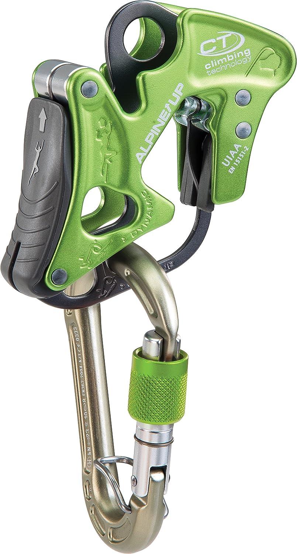 vert Climbing Technology Alpine-Up Mousqueton Assureur descendeur multifonction