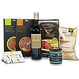 Cesta regalo con productos Gourmet de Castilla y León
