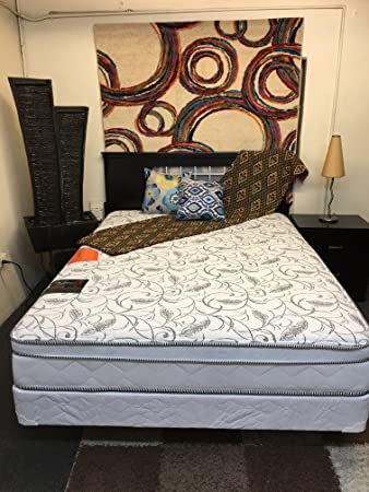 Amazon Com 10 Inch Amber Mattress Olympic Queen Kitchen Dining