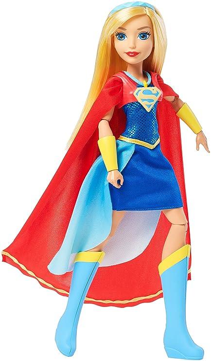 77565dd120d4 Amazon.com  Mattel DC Super Hero Girls Premium Supergirl Action Doll ...
