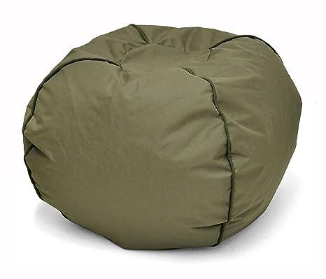 Awesome Amazon Com Heritage Kids Jk656187 Kids Round Bean Bag Chair Theyellowbook Wood Chair Design Ideas Theyellowbookinfo