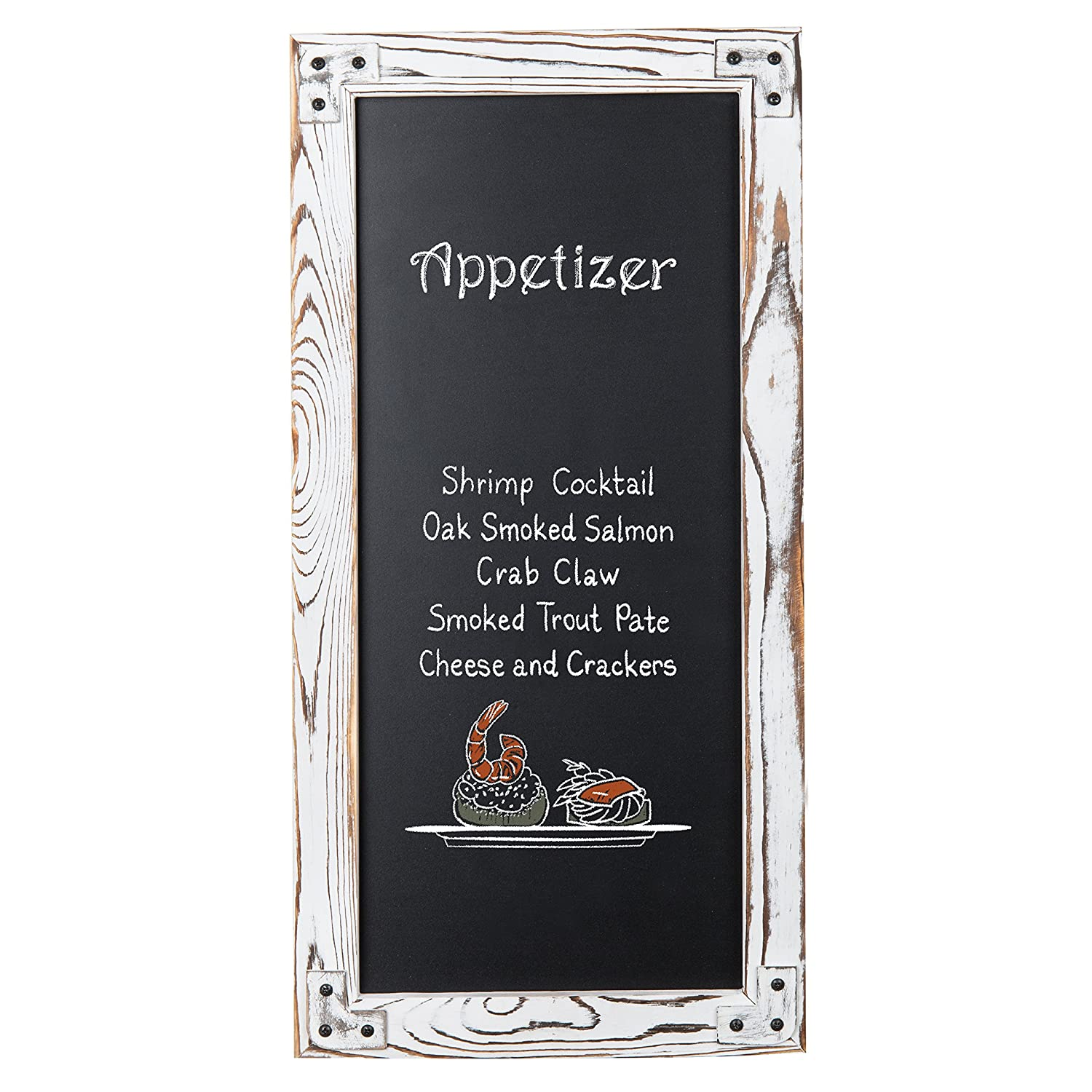 Amazon.com: MyGift – Placa de pizarra borrable para montar ...