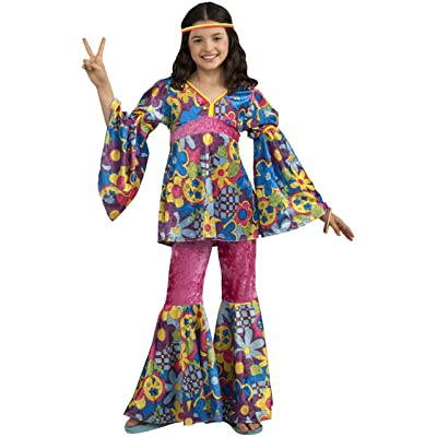 Forum Novelties Deluxe Designer Collection Flower Power Costume, Child Medium: Toys & Games