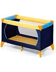 Hauck Dream N Play Plus Lettino da Viaggio, Inclusi Materasso e Borsa di Trasporto 120 x 60 cm, Utilizzabile dalla Nascita, Pieghevole