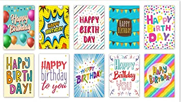 20quotWordsquot Design Birthday Cards Envelopes By Greetingles