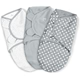 SwaddleMe Original Swaddle, Criss-Cross Polka Dot, 0-3 mo