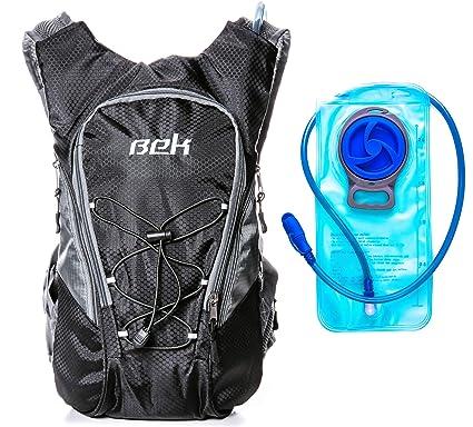 Amazon.com: Bek Design Mochila de hidratación, mochila de ...