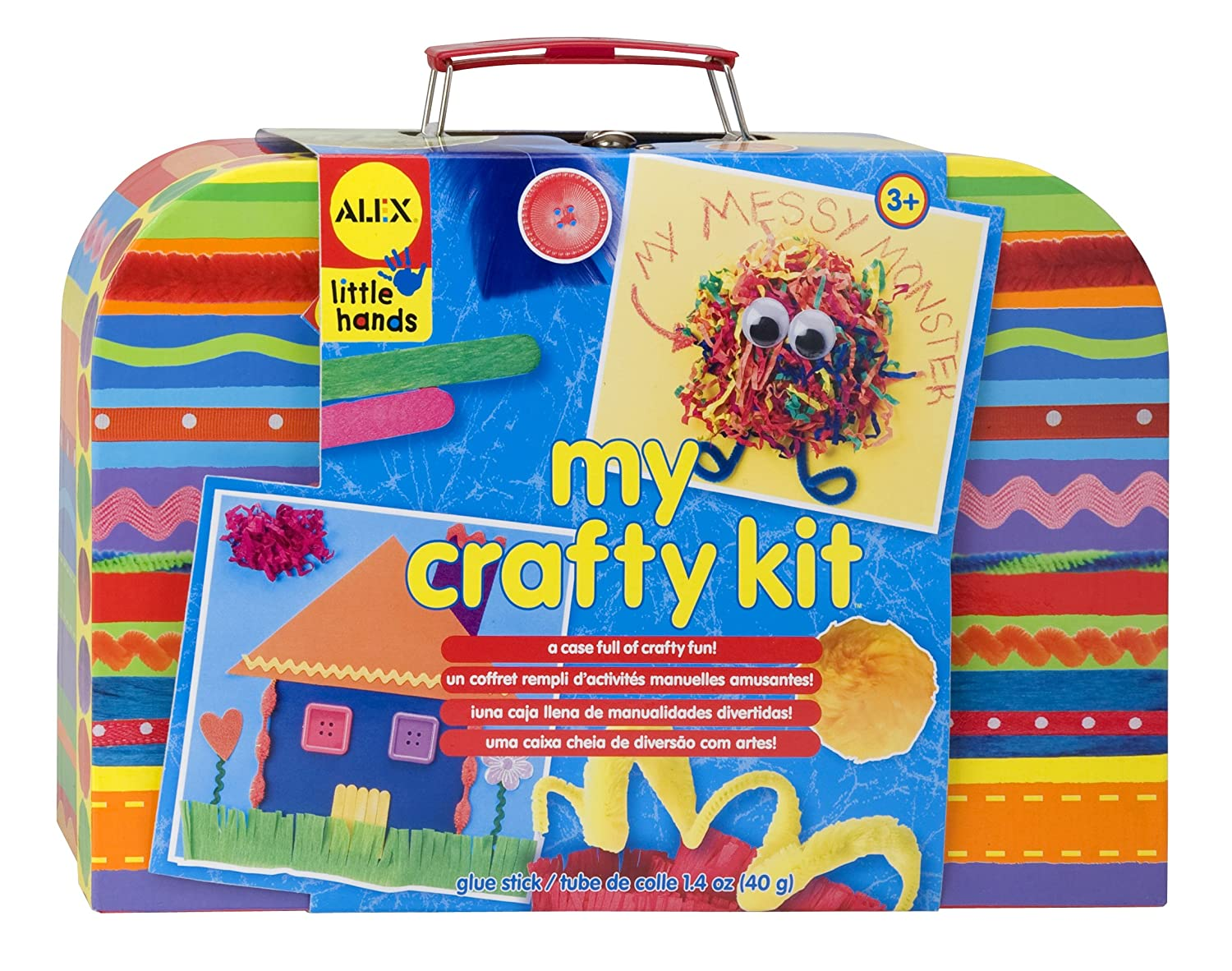 Crafty Amazoncom Alex Toys Craft My Crafty Kit Toys Games