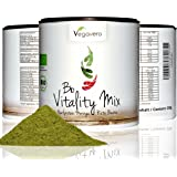 Superfood Detox Vitality Mix | 200 gramms of 3 Refined Raw Superfoods | Organic Hemp, Beetroot + Moringa Oleifera | Antioxidant, Energize, Weight Management | Add to Juices, Smoothies, Baking and Cooking for an Extra Nutritional Boost | 100% VEGAN & ORGANIC by Vegavero