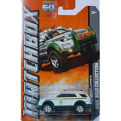 2012 Matchbox Ford Explorer (Forest Ranger) White - 118 of 120: Toys & Games