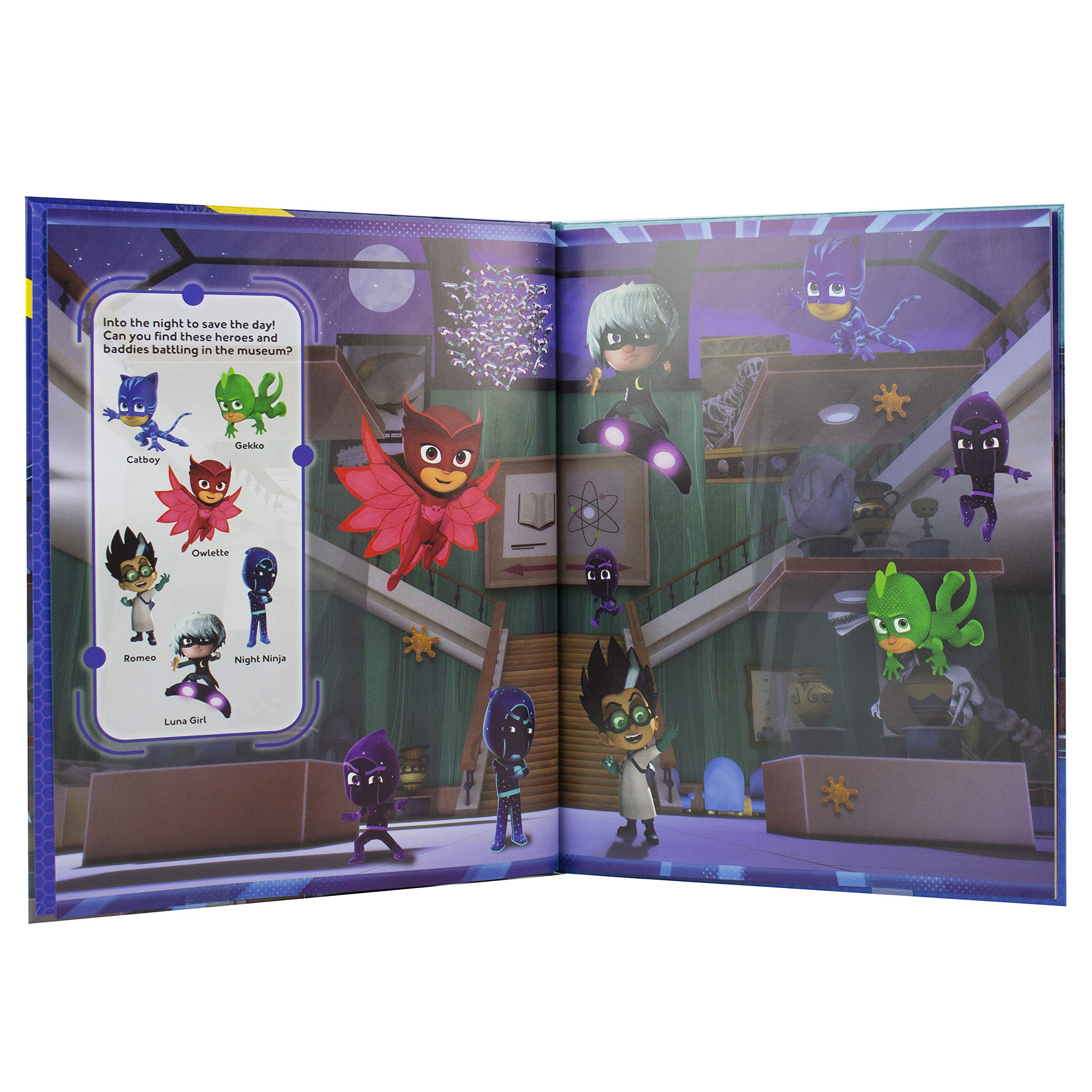 Pj Masks Look and Find: Amazon.es: Libros en idiomas extranjeros