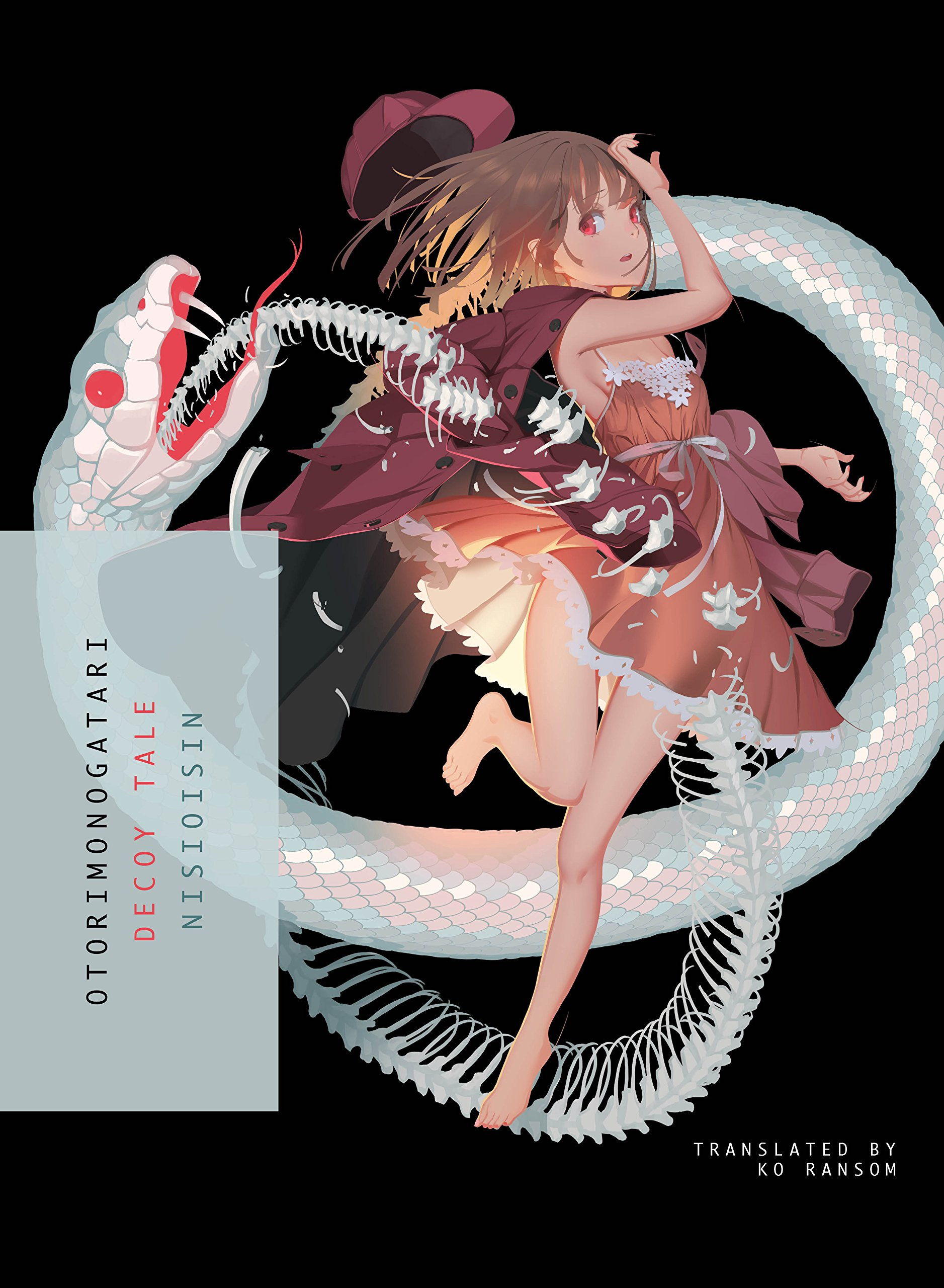 otorimonogatari light novel cover