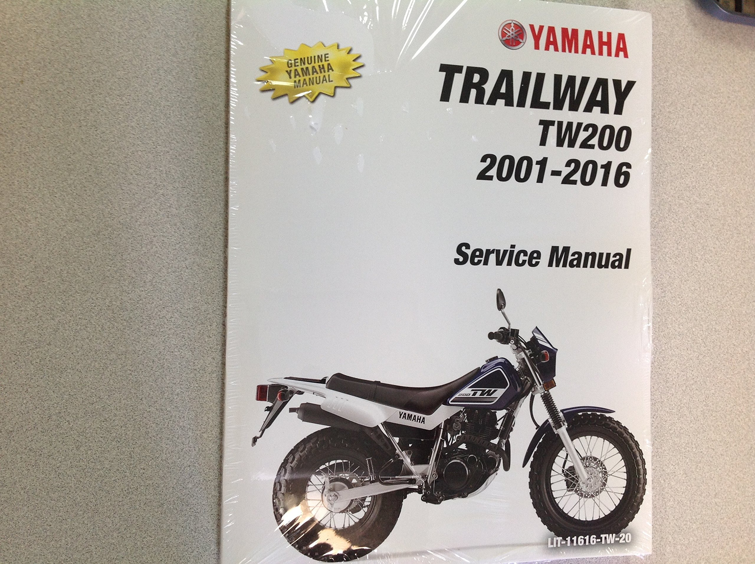 2001 2002 2003 2004 2005 2006 2007 2008 2009 2010 2011 2012 2013 2014 2015  2016 YAMAHA TW200 TRAILWAY TW 200 Owners Service Shop Manual NEW: YAMAHA:  ...