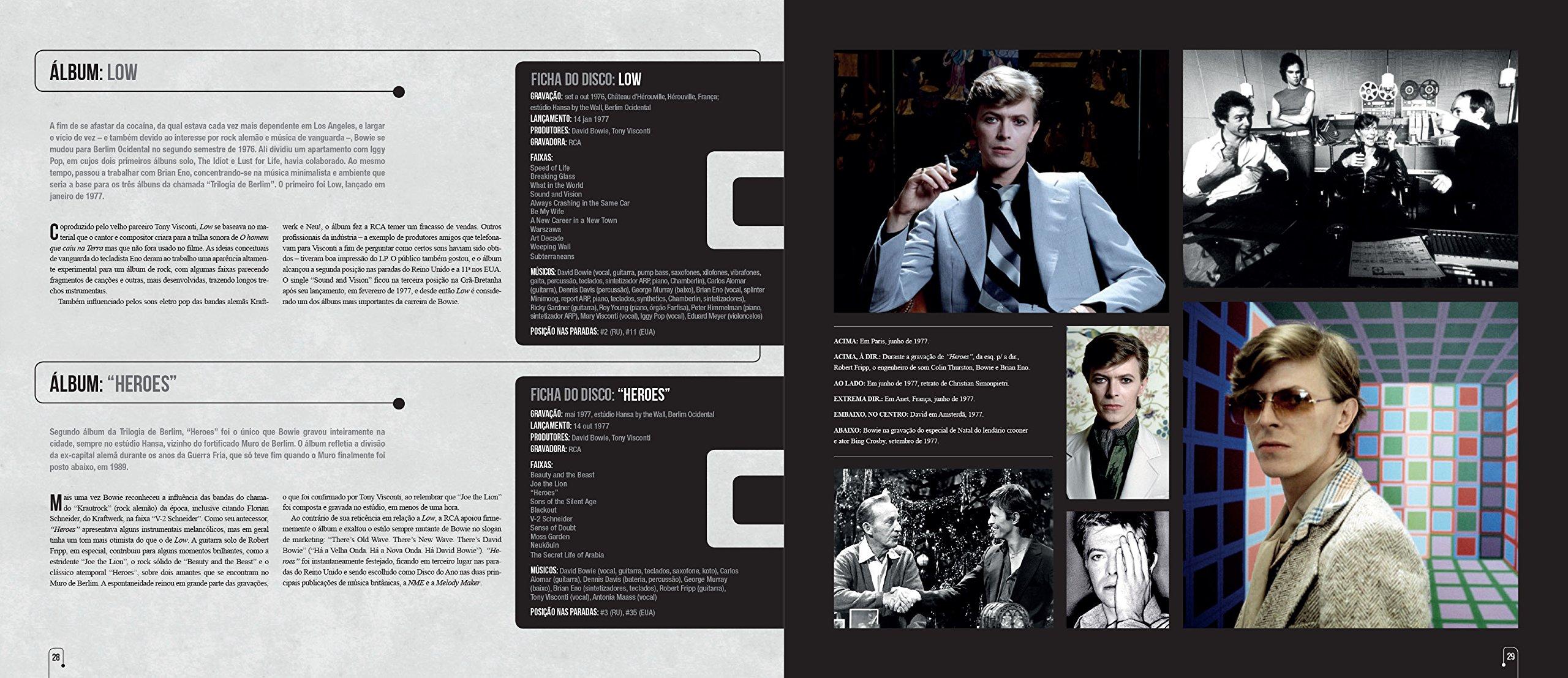 David Bowie. História, Discografia, Fotos e Documentos (Em Portuguese do Brasil): Mike Evans: 9788568684504: Amazon.com: Books