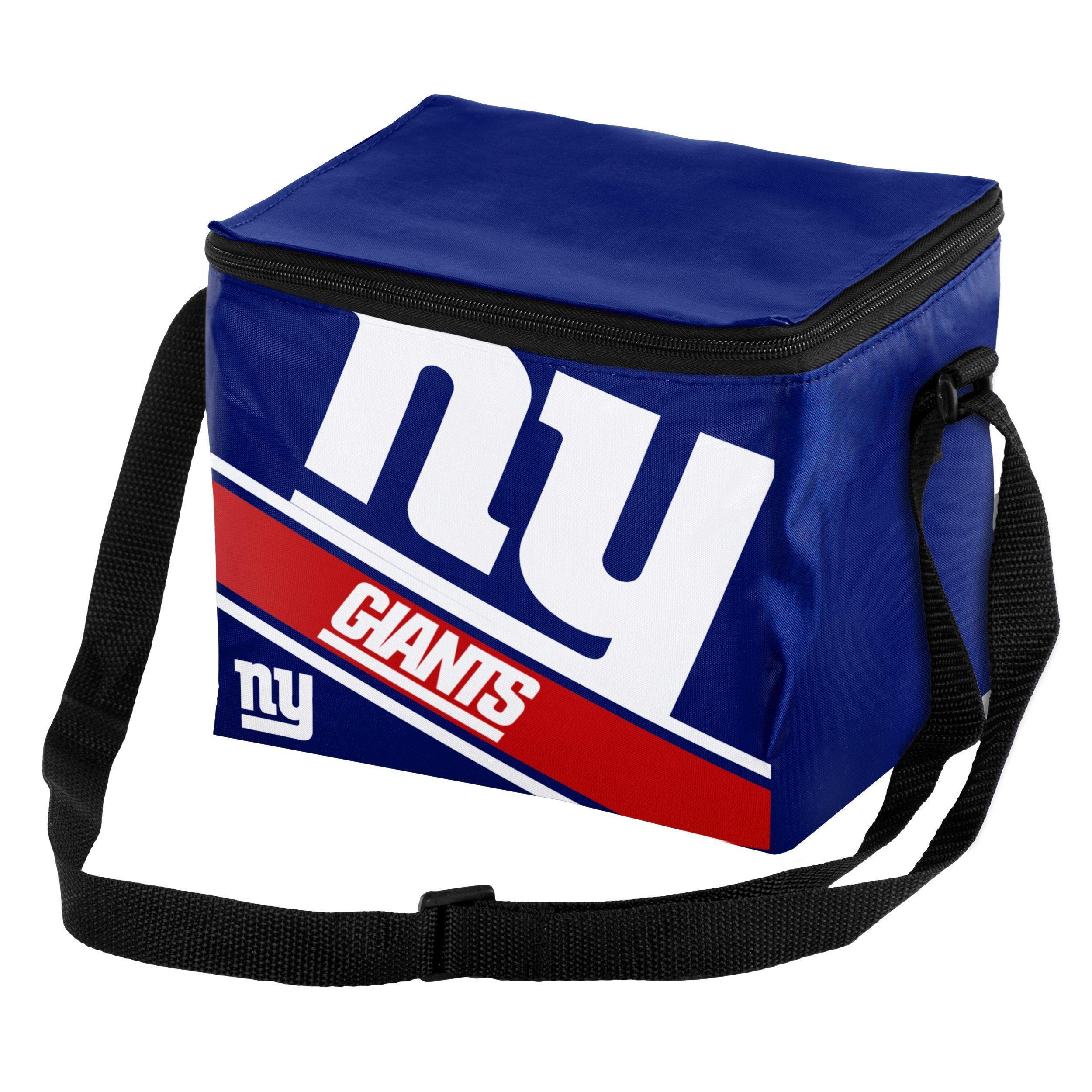 New York Giants Big Logo Stripe 6 Pack Cooler