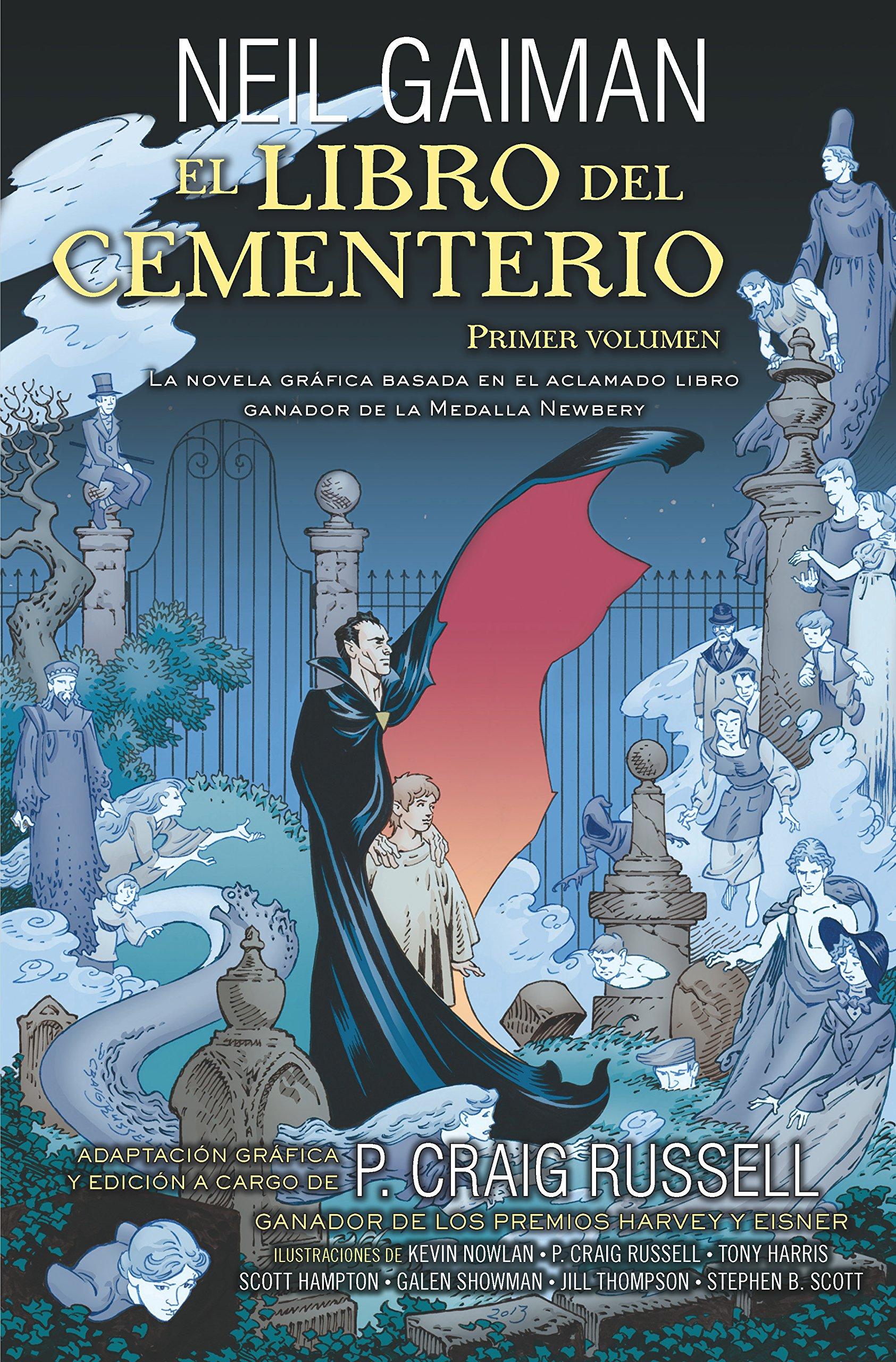 El libro del cementerio Vol 1 (Novela gráfica): Amazon.es: Neil Gaiman: Libros